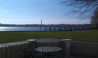 Photo for Spectacular Waterfront Villa, walking distance to town