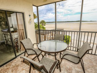 Welcome to Carlos Pointe 124.  This remodeled, elevated first floor condo, provides breath taking views of the Gulf of Mexico from almost every room