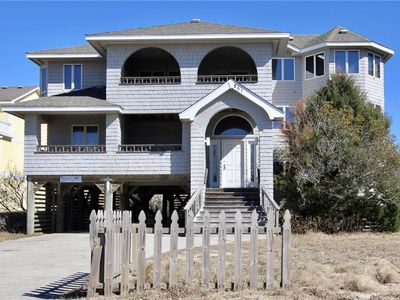 Photo for #447: OCEANFRONT Home in Corolla w/HotTub
