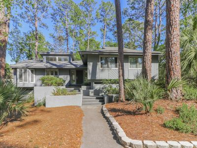 Photo for Four Bedroom Sea Pines Home with Private Pool ~ 5 Minute Walk to the Beach!