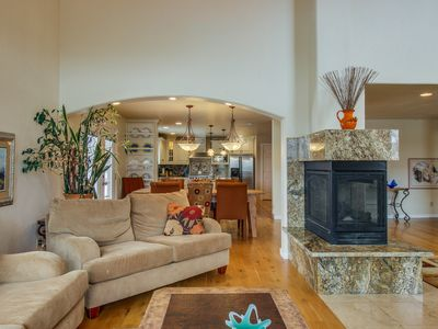 Photo for NEW LISTING! Dog-friendly home w/ fireplaces & wet bar - perfect for families!