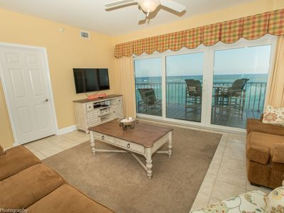 Photo for Waterview Towers Yacht Club 832 -  Top Floor 3 BR on the Pass with Amazing views