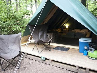 Photo for Camping Huttopia Dieulefit *** - Bonaventure Tent 1 Room 2 People