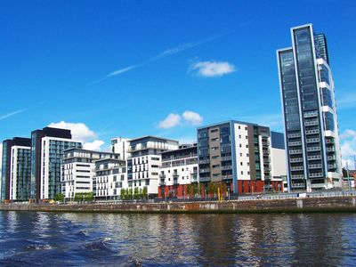 Photo for Apartment with underground car parking and stunning river and city views
