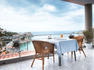 Photo for Amazing seaview villa just 200 metres from the beach