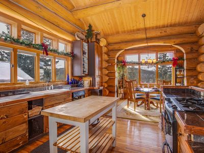 Photo for Log View Lodge  Unobstructed Views From Every Room Private Hot Tub Pet Friendly