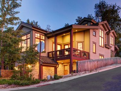 Photo for Abode at Crown Manor | Luxury Haven in Old Town | Steps to Slopes & Main St.! |