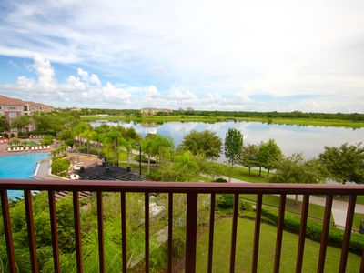 Photo for Vista Cay Lake/Pool View Condo. Near all Parks and Conventions