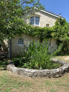Photo for 18th Century Gascon cottage with private pool and large grounds