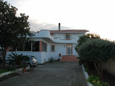 Photo for Villa on the north coast of Sicily, with sea views ..
