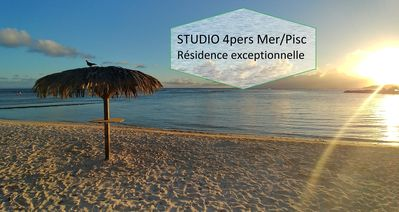 Photo for Large Studio 4pers in Residence with Pool and Beach less than 100m