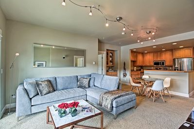 Try out a new local coffeehouse within a 5-minute walk of this gorgeous condo.