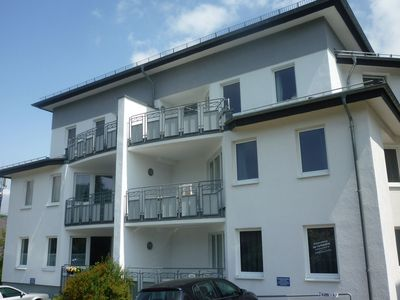 Photo for Holiday home in the centre of Willingen - balcony and lovely view of the town