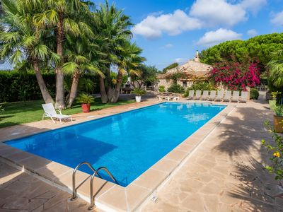 Photo for Beautiful Holiday Home Ses Rodes with Pool, Wi-Fi, Garden, Terraces & Air Conditioning; Parking Available, Pets Allowed