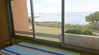 Photo for T3 sea view with pool in Marines d'Aryana