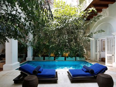 Photo for Car024 - Luxurious 6 bedroom villa with pool in Cartagena