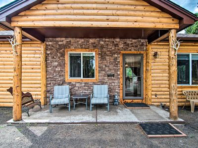Photo for Black Hawk Mountain Cabin w/ Hot Tub + Grill!