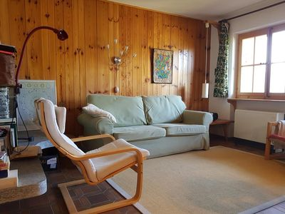 Photo for Outside : 3-room flat for 4 persons on the 2nd floor, large balcony with garden furniture -Inside :