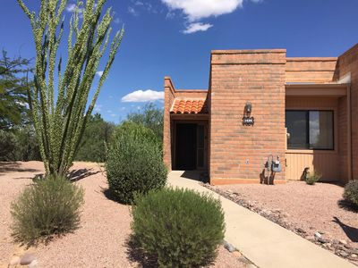 Photo for Green Valley Casita - Private and Quiet overlooking the Desert Hills Golf Course