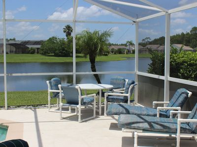 Photo for Magic Lake Villa II, 4 bedroom pool home in Eagle Pointe, Kissimmee, FL