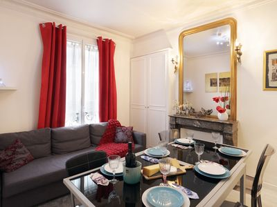 Photo for A Haven of Peace in the Opéra district - Grand Boulevards