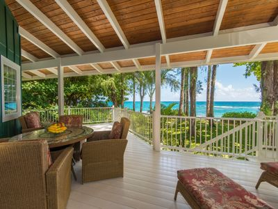 Photo for Beachfront Luxury on Tunnels Beach with Beautiful Ocean & Mountain Views