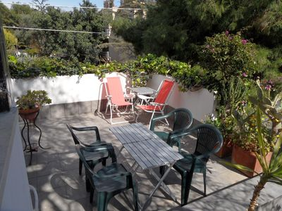 Photo for Luxury apartment 100m from the sea for 2-4 people with terrace. Quadrifoglio 3
