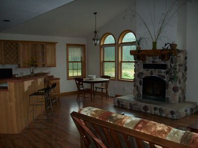 Photo for 50 Acres, On A Prairie, Tiny Trout Stream In The Valley House