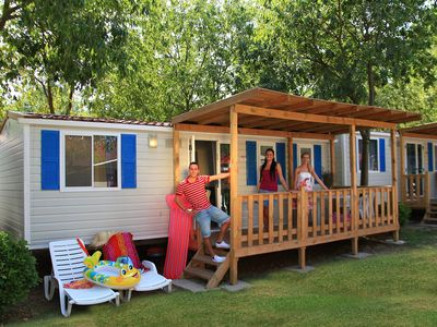 Photo for Mobilehome on a campsite