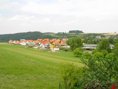 View from living & dining room house Feldbergblick