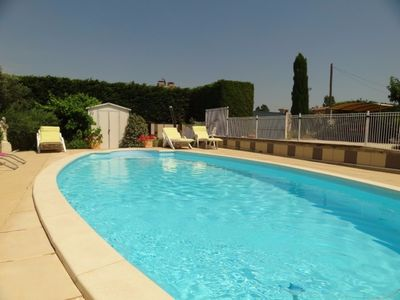 Photo for Beautiful house in maubec at the foot of the luberon