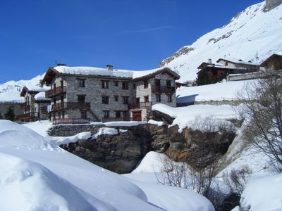 Photo for Apartment in chalet at the foot of the slopes of Val d'Isère