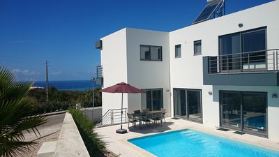 Photo for Exclusive Villa with Private Pool and Sea Views on the Lisbon Coast