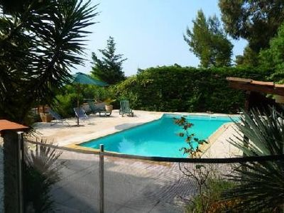 Photo for 5 minutes from the beaches, Villa avecPiscine in Hyères, large garden.