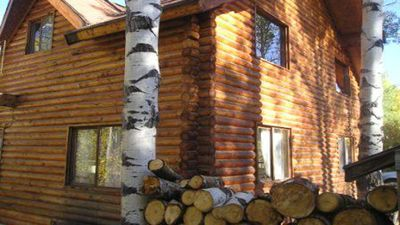 Photo for LUX Cabin ~ Aspens & Moose - Hot tub & Stars SkiUtahCabin & Timber Lakes Legal!
