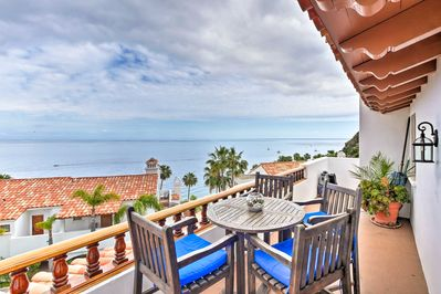 Experience Catalina Island in style at this oceanfront vacation rental villa!