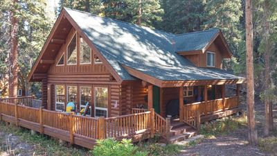 Photo for Custom Log Home In Quiet Blue River Neighborhood Near Ski Lifts And Hiking