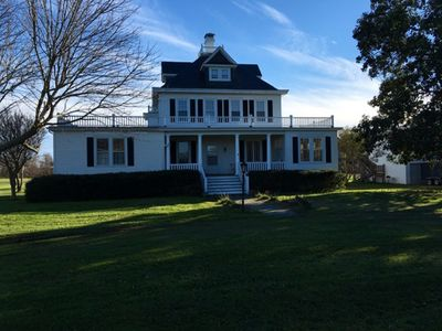 Photo for Historic Bay Home with Private Beach and Incredible Views!