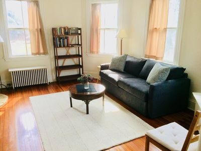Photo for Comfortable Living in Casual 100 yr old Home, 10 min walk to Stonington Village