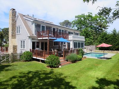 Photo for Chatham Coastal Charm -All Updated-Heated pool & walk to beach -Central Air!