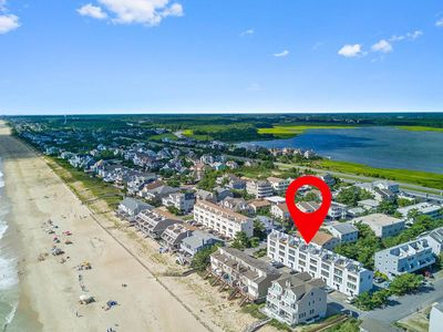 Photo for #204 at 29150 Ocean Rd, ** Over the dune to the Ocean!**  Bright & Sunny, Dog friendly Townhome on private beach. Sleeps 9, Includes Sheets and Towels in 2020!