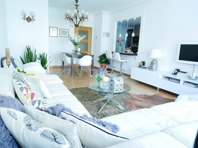Photo for Beautiful, Cosy, Great Apartment Downtown, Near Beach.  Parking. Free Transfer