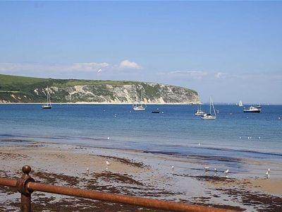 Photo for Sea Front Luxury Apartment In Swanage, Dorset, England