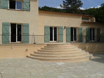 Photo for Large quiet house, located at the end of private road, 5000 m² garden
