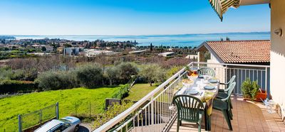 Photo for Relax with a view of Lake Garda