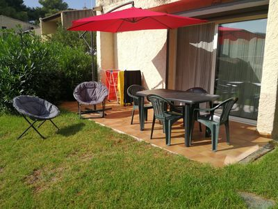Photo for Air-conditioned accommodation 5 minutes walk from the beach