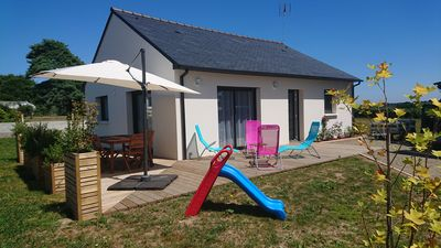 Photo for New house all comforts in the heart of the tregor on the road of brehat and paimpol