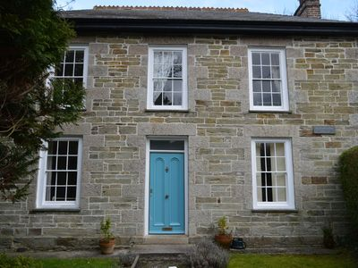 Photo for A Grade II listed Georgian house on the North Cornwall coast in the attractive village of St Agnes.