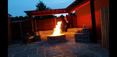 Photo for Modern 4 Bed Detached Home with fire pit & parking