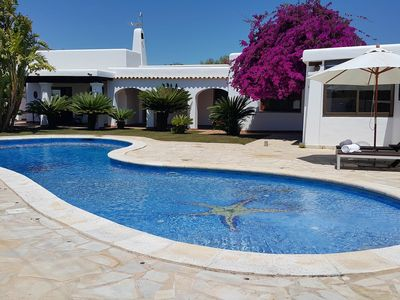 Photo for Villa Linda in Ibiza, with private pool, 4 bedrooms, 8 sleeps